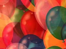 25 COLOR BALLOONS DESIGNER 10x13 MAILER POLY BAGS MAILING PLASTIC BAGS Des. #13