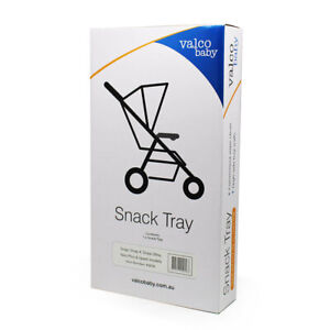 Valco Baby BLK Snack/Cup Tray for Neo Plus/Spark/Snap/Snap4/Snap Ultra Stroller