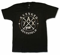 Avenged Sevenfold Crossing Over Black T Shirt New Official Adult