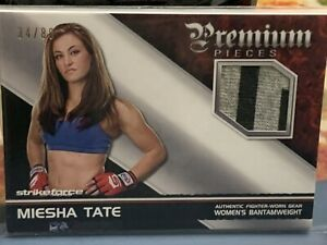 Topps UFC Miesha Tate Premium Relic Card #'d 34/88 Fight Used Worn Knockout