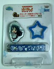 K-ON!! Mio Akiyama Keychain Strap Lanyard Ichiban Kuji G Prize Anime Japan NEW