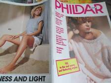 Phildar Knitting (& Crochet) Book #117-Summer Men/Women Designs All 41 Shown