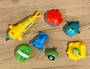 The Octonauts SET OF 7 MINI GUPS FROM MAGAZINES highly collectable!