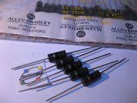 Allen-Bradley Resistor RC42GF150J 15 Ohm 2W 5% Carbon Composition - NOS Qty 5