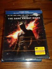 BATMAN: THE DARK NIGHT RISES - DVD/BLU-RAY/DIGITAL COPY - 3D SLIPCOVER!!
