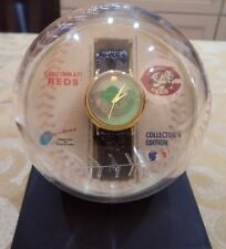Cincinnati Reds 3D Holographic Wrist Watch Mr. Red Baseball New