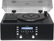TEAC LP-R500 STÉRÉO COMPACT CD PLATINE TOURNE-DISQUES RADIO CASSETTE