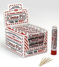 CINNA -PIX Cinnamon Toothpicks 24 tubes per box