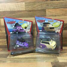 Mattel Disney Pixar Cars 2 Diecast Deluxe Kimura Kaizo & Kingpin Nobunaga