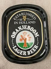 More details for vintage oranjeboom pub beer tray metal beer tray collectible