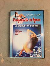 Emmanuelle In Space: A World Of Desire (DVD, 1999)