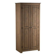 Birlea Santiago 2 Door Wardrobe Robe Corona Mexican Pine Solid Wood Furniture
