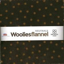 Bonnie Sullivan Woolies Flannel Neutrals Charm Pack 42 5-inch Squares Maywood St