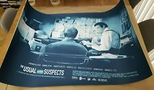 The Usual Suspects - Ltd Ed Variant Screen Print by Vlad Rodriguez nt Mondo