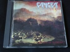 Cancer - The Sins Of Mankind (RARE CD 1993) DEATH AGENT STEEL OBITUARY TESTAMENT