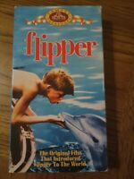 Flipper VHS 1963 Adventure Family Drama Chuck Connors Luke Halpin Free Shipping
