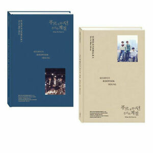 Super Junior K.R.Y. When We Were Us (1st Mini) CD + Photobook + Tracking number