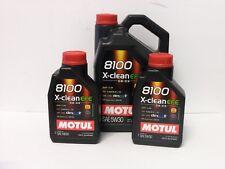 9,33€/l Motul 8100 X-clean EFE 5W30 C2 C3 7 Ltr Fiat 955535-S1 / S3