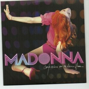 MADONNA : CONFESSIONS ON A DANCE FLOOR ♦ Limited Edition CD Album ♦ HUNG UP