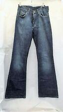 Lee Denver Herren Jeans Blau W29 L32 Bootcut Stonewashed Denim Bund Mittel