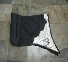 Dressage saddle pad, baroque, swallow tail, many colors