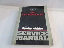 1995 FORD ESCORT TRACER SERVICE MANUAL OEM