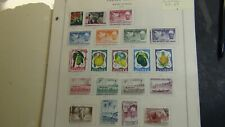 Fr. Guinea stamp collection on Scott International pages