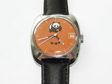Panda WWF, vintage, exclusivamente, unisex, reloj de pulsera, Wrist Watch, montre, orologio, Rare!