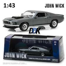 GREENLIGHT 86540 John Wick 1969 Ford Mustang BOSS 429 Diecast Car 1:43