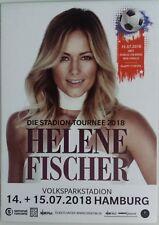 HELENE FISCHER Promo Karte Flyer Flier Hamburg 2018 'Stadion-Tournee' Gabalier
