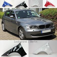 BMW 1er E81/E82/E87/E88 2004-2013  KOTFLÜGEL VORNE LACKIERT IN WUNSCHFARBE, NEU!