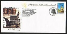 Romania, 2000 issue. 27/JUL/00. Composer Bach Cancel on Cachet Envelope.