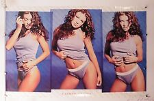 """CARMEN ELECTRA Vintage poster from 2000 22"""" X 34.25 NOS (b507)"""