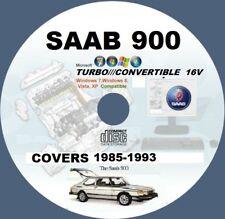 SAAB 900 900S 16V 1985-TO-1993 WORKSHOP REPAIR MANUAL CD