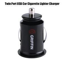 Griffin Doble Puerto USB Cargador de mechero de coche Adaptador de Alimentación Dual Socket 5V