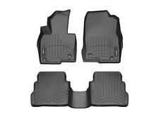 WeatherTech Floor Mats FloorLiner for Mazda CX-5 2017-2018 1st 2nd Row Black