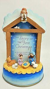 Hallmark Story of the First Christmas 25-day Countdown Calendar Nativity