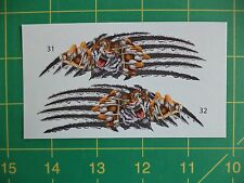 1:72 or 1:48 scale decal Tiger Slashing - Kopro Decals Warsaw Pact