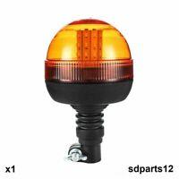 Girofaro Lampeggiante 40 LED Arancio E9 12-24V IP56 Veicolo Trattore Omologato