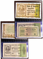 Weimar Germany Inflationary Notes Set of 12 c.1920s SKU50326
