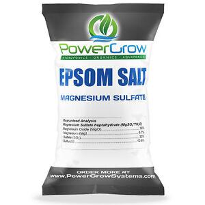 EPSOM SALT (Magnesium Sulfate) Agricultural Fertilizer Grade - BULK