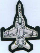 Boeing Douglas F 18 Super Hornet Fighter Squadron Pilot Crew Patch Dog Tag Set