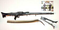 1/6 SCALE DRAGON GERMAN WWII - MG38 W/ BELT AND SUPPORT- TIGER ACER - NORMADY 44
