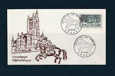 enveloppe 1er jour   journée du timbre   Ambert    1964