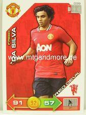 Adrenalyn XL Manchester United 11/12 - #039 Fabio Da Silva - Red Devil