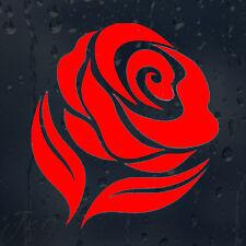 Beautiful Flower Red Rose Car Decal Vinyl Sticker For Window Panel Bumper