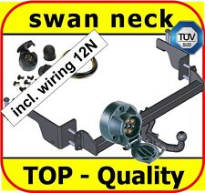 Towbar & Electric 12N Opel / Vauxhall Combo C Van 2001 - On / swan neck Tow Bar