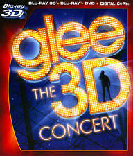 Glee Live In Concert (Blu-ray/DVD, 2011)