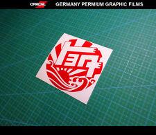 TOYOTA VINTAGE TEQ ROUND LOGO JDM RISING SUN Drift GT86 Sticker Decal #03