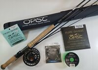 "OPST Trout Spey Complete Outfit- 9'9"" - 3wt - 4pc - NEW"